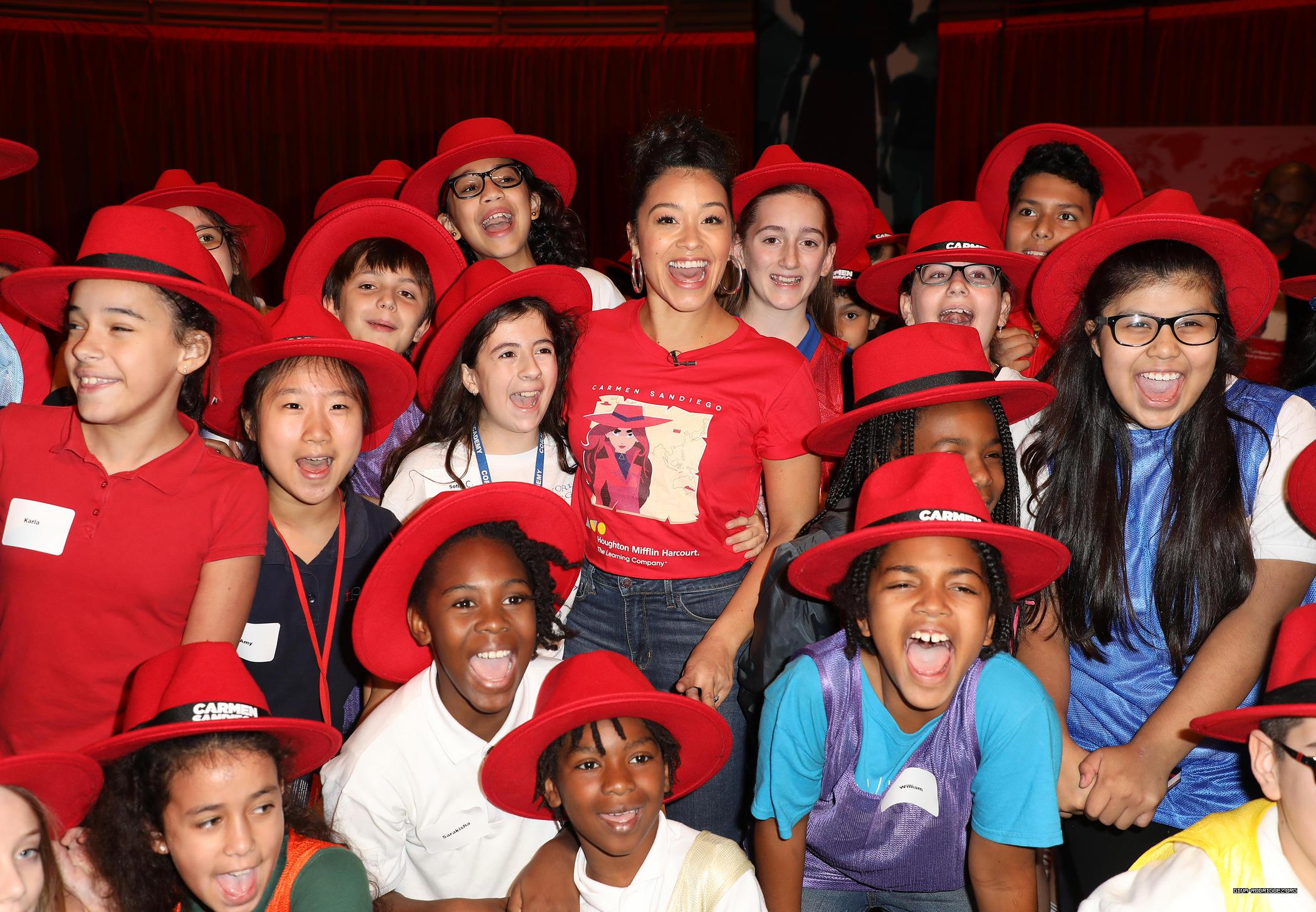 Photos: Hosting Carmen Sandiego Day in Miami