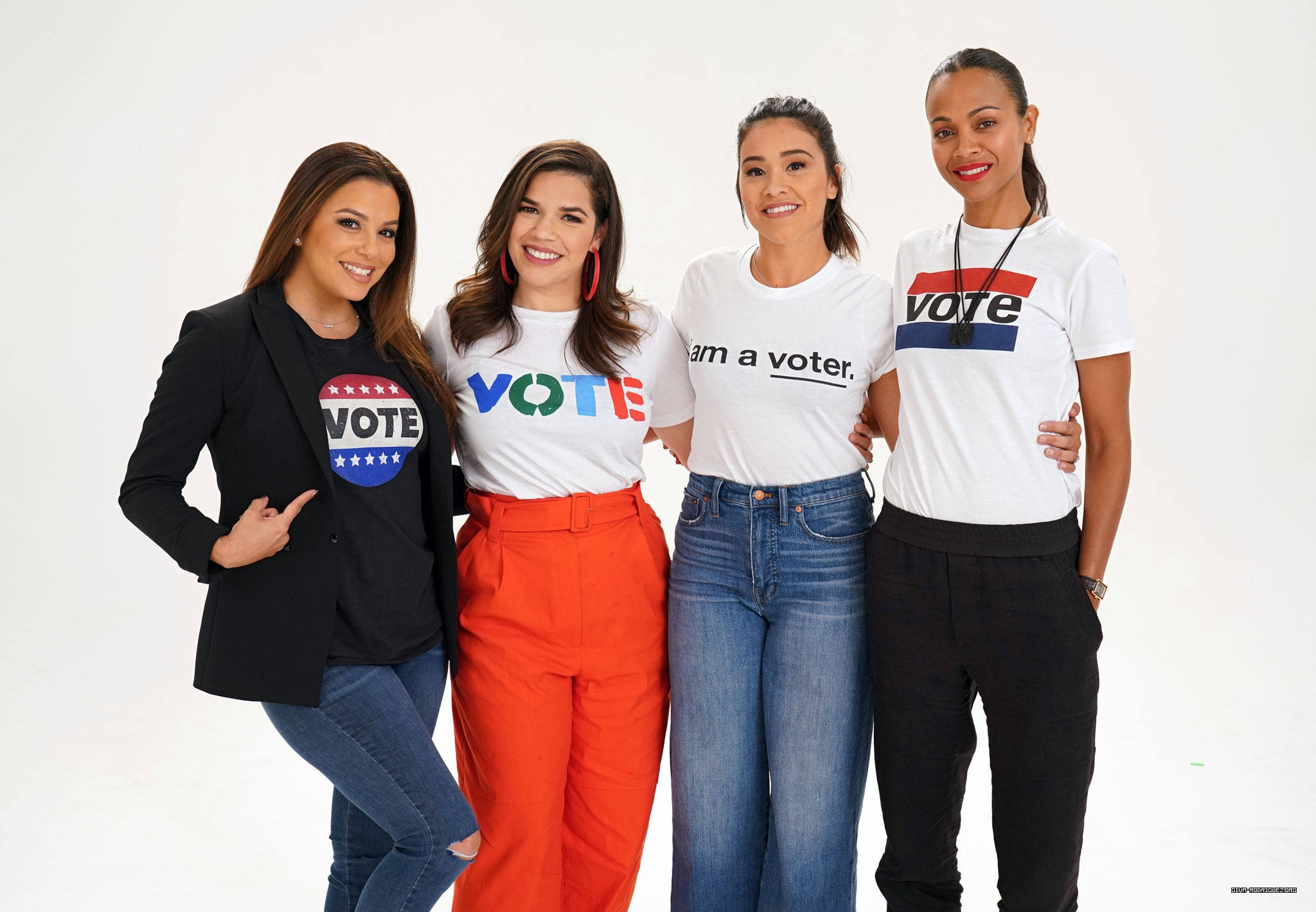 Photos: Latina's Stand Up Election Events + Photo Session