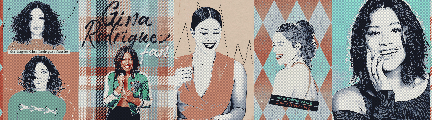 New Design at 'Gina Rodriguez Fan'